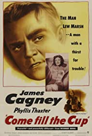 James Cagney and Phyllis Thaxter in Come Fill the Cup (1951)