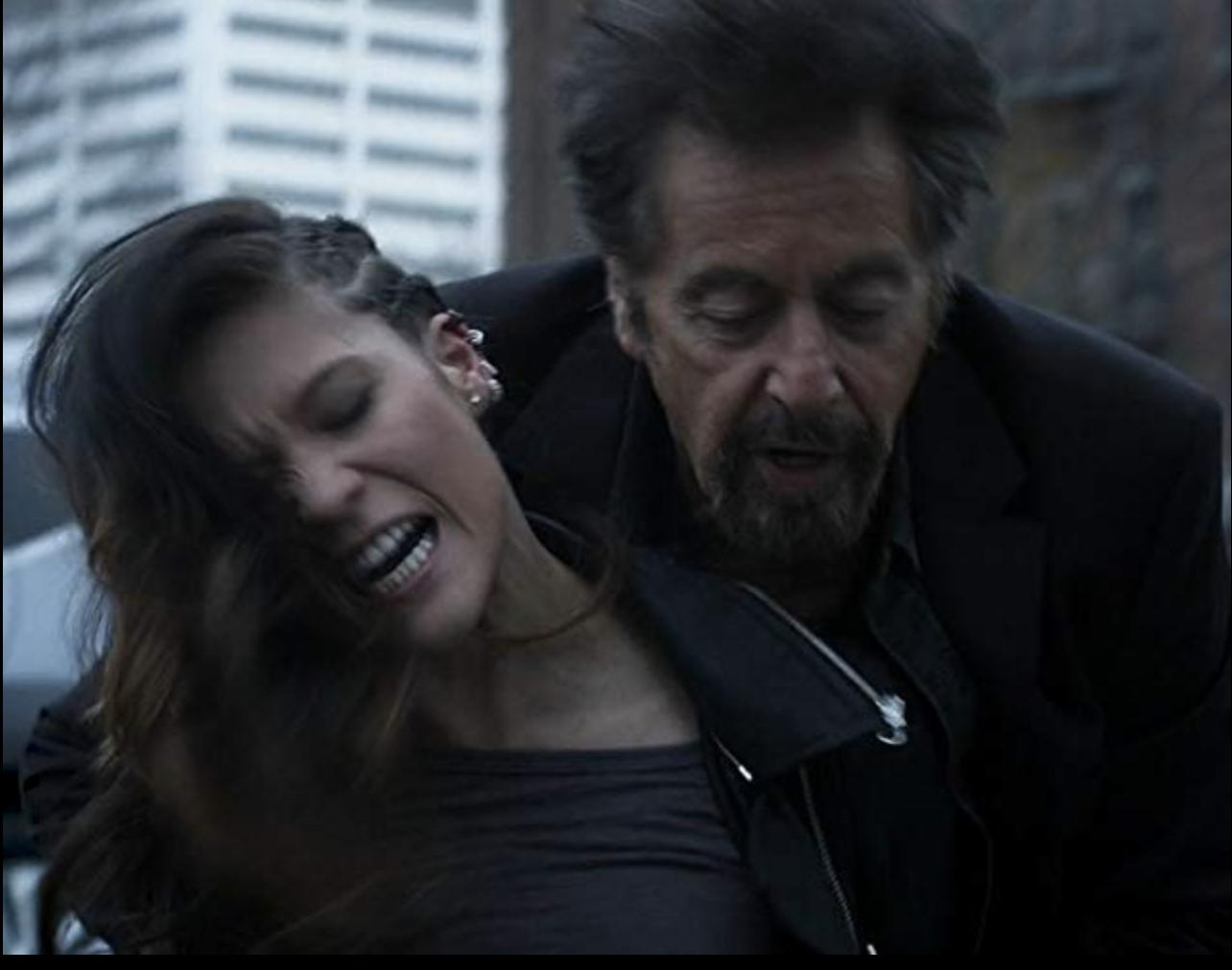 Still of Chelle Ramos and Al Pacino