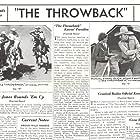 Muriel Evans, Buck Jones, Eddie Phillips, and Silver in The Throwback (1935)
