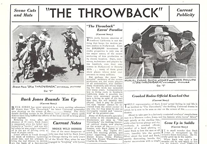The Throwback (1935)