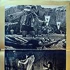 Ed Fury, Luciana Gilli, and Claudia Mori in Ursus nella terra di fuoco (1963)