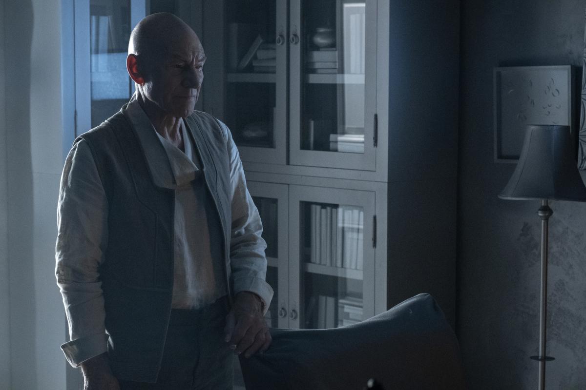 Patrick Stewart in Et in Arcadia Ego, Part 2 (2020)
