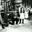 Randolph Scott, John Emery, and Don Megowan in A Lawless Street (1955)