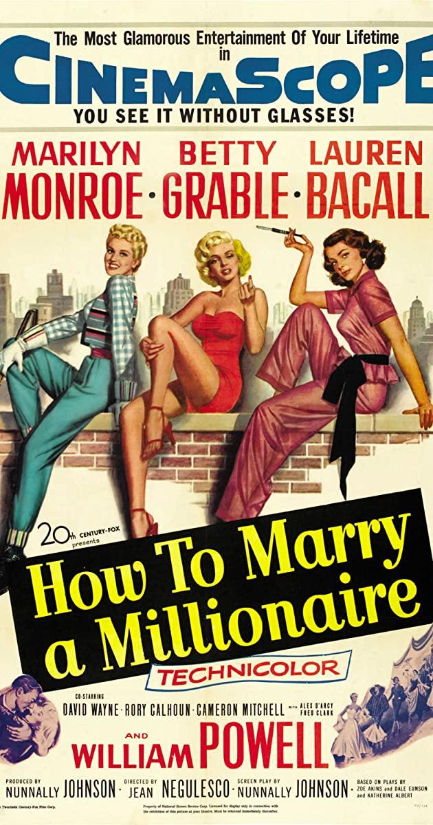Subtitle of How to Marry a Millionaire