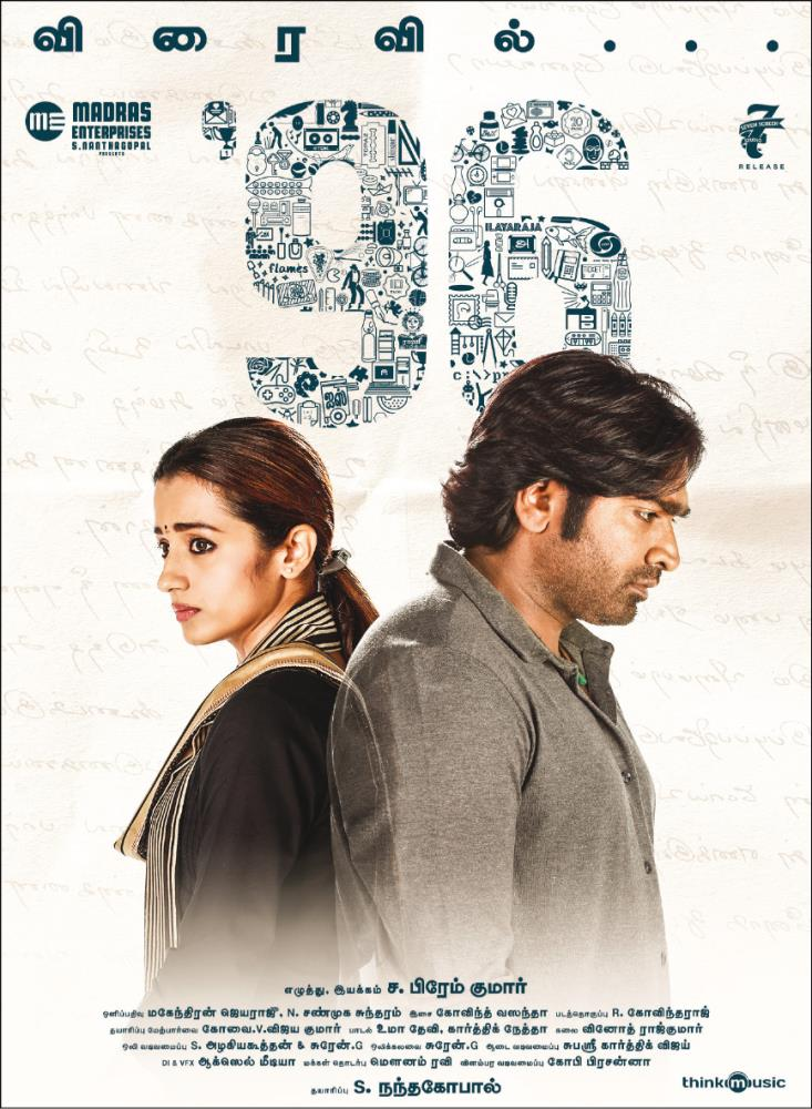 96 (2018) Hindi Dubbed 480p HDRip x264 400MB
