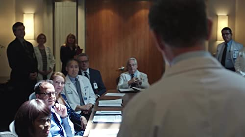 The Resident: Bell Addresses A Board Of Medical Professionals