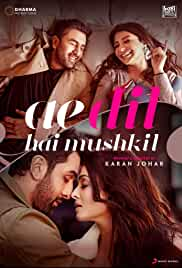 Ae Dil Hai Mushkil | 700mb | DVDRIP | Hindi | 720p