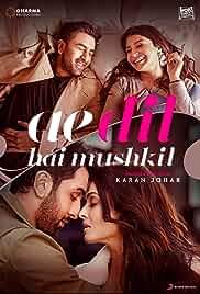 Ae Dil Hai Mushkil | 700mb | DVDRIP | Hindi | 720p