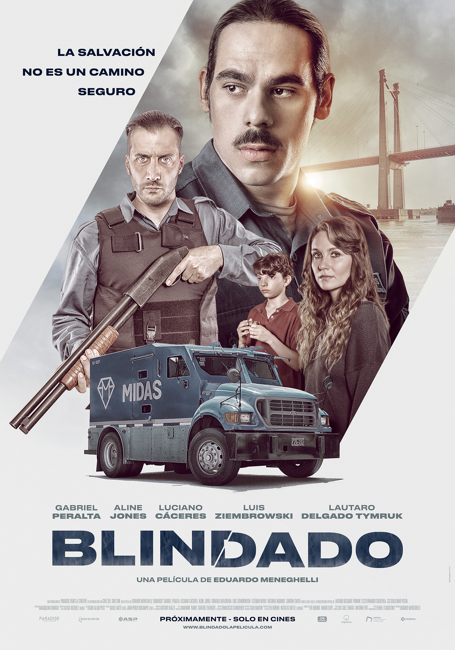 Blindado (2019) | DVDRip Latino HD GoogleDrive 1 Link