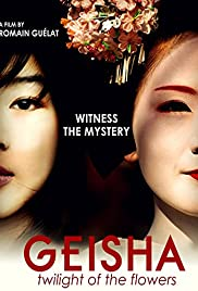 Geisha: The Sunset of the Flowers Poster