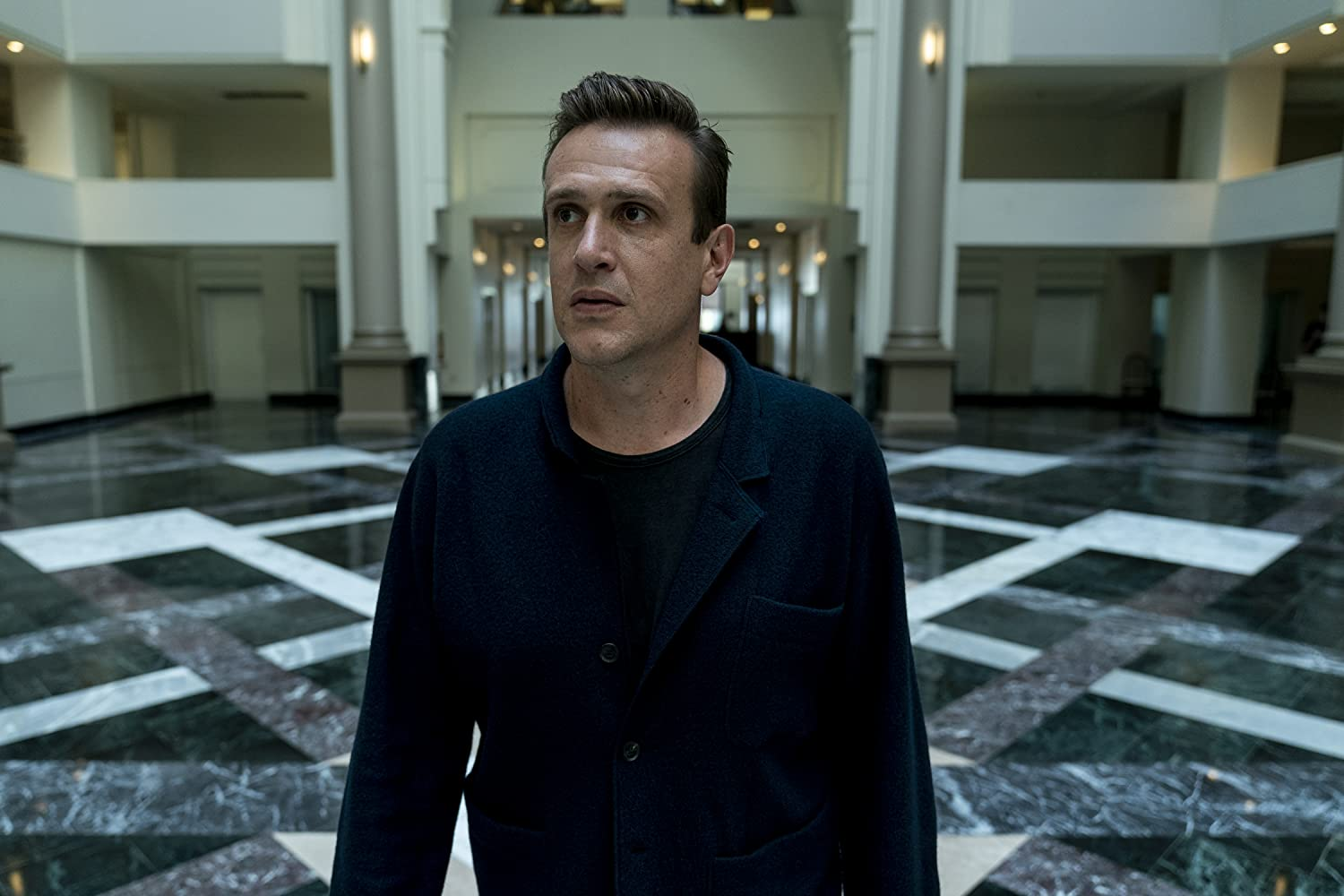 Jason Segel in Dispatches from Elsewhere (2020)