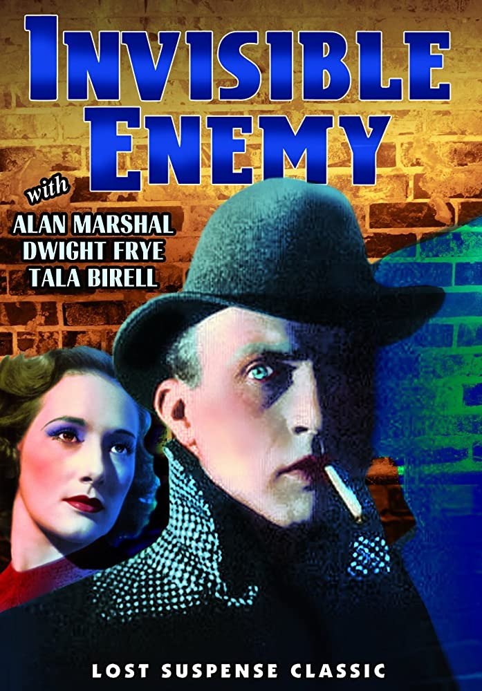 Tala Birell and Dwight Frye in Invisible Enemy (1938)