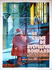 Watch online date movie Le crime de Sylvestre Bonnard by [4K2160p]