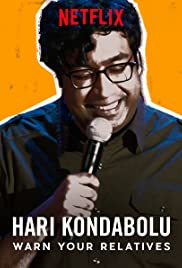 Hari Kondabolu: Warn Your Relatives Poster