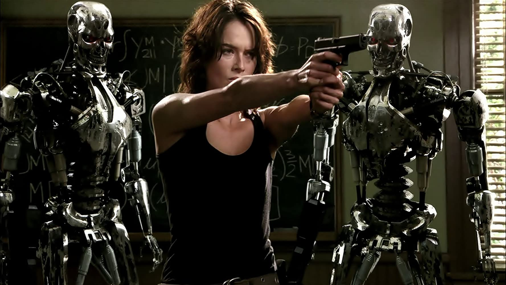 Lena Headey in Terminator: The Sarah Connor Chronicles (2008)