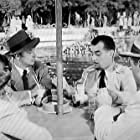 Robert Mitchum, Ramon Novarro, Jane Greer, and Patric Knowles in The Big Steal (1949)