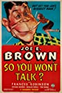 So You Won't Talk (1940) Poster