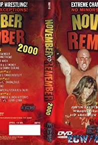 Primary photo for ECW November to Remember 2000