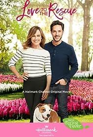 Nikki Deloach and Michael Rady in Love to the Rescue (2019)