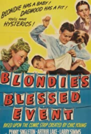 Blondie's Blessed Event Poster