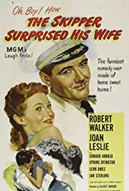 The Skipper Surprised His Wife Poster