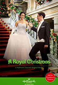 Lacey Chabert and Stephen Hagan in A Royal Christmas (2014)