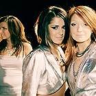 Cheryl, Nadine Coyle, and Nicola Roberts in Girls Aloud: No Good Advice (2003)