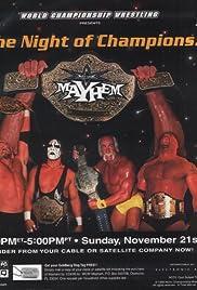 WCW Mayhem Poster