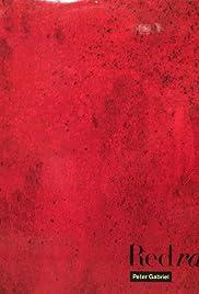 Peter Gabriel: Red Rain Poster