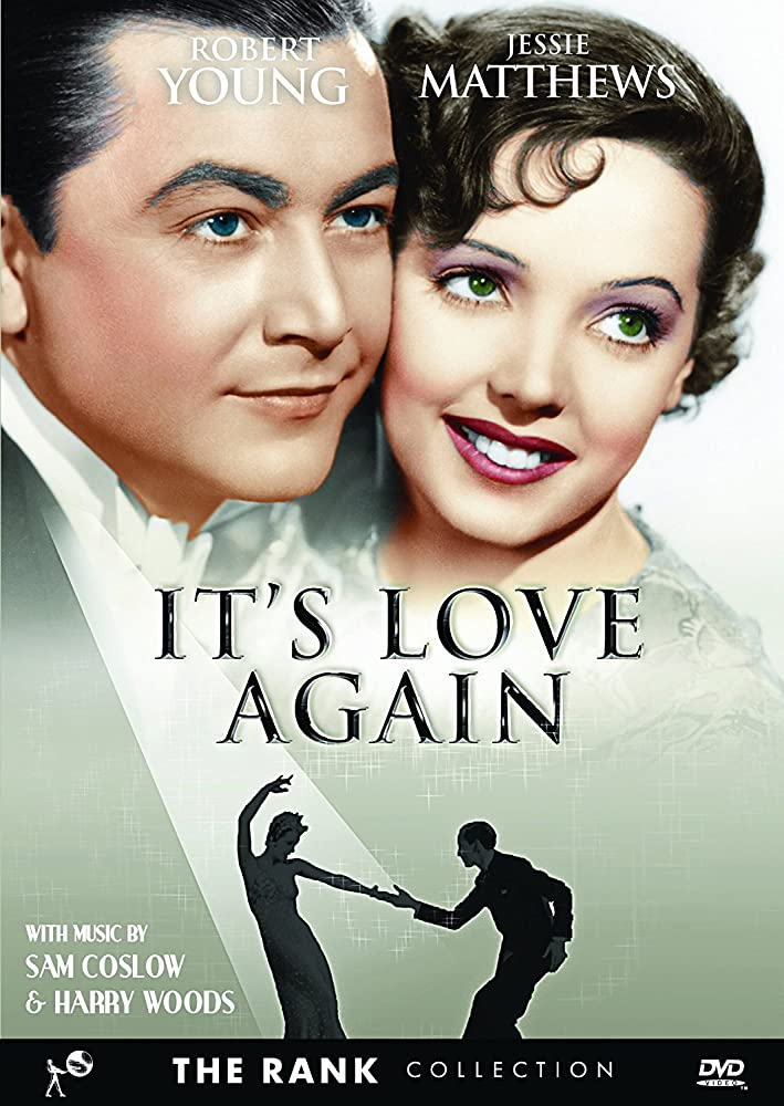 Robert Young and Jessie Matthews in It's Love Again (1936)