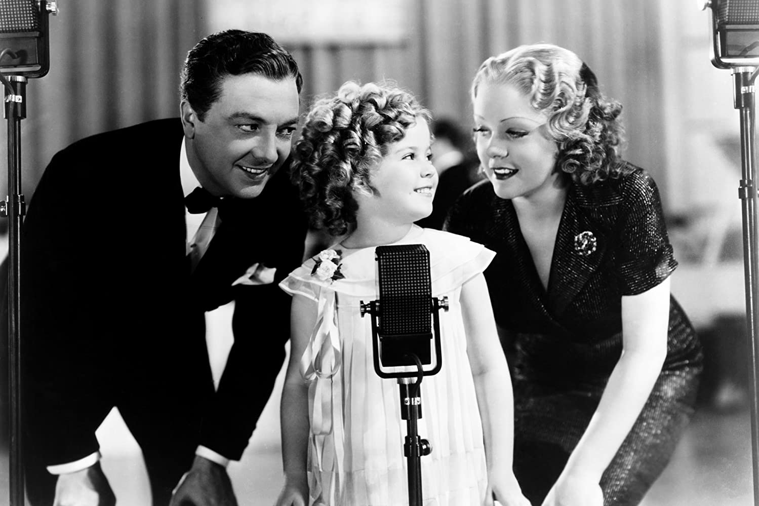 Shirley Temple, Alice Faye, and Jack Haley in Poor Little Rich Girl (1936)