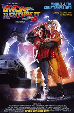 Back to the Future Part II Poster