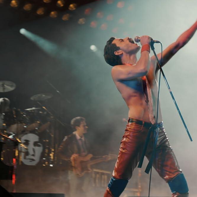 Joseph Mazzello, Rami Malek, and Ben Hardy in Bohemian Rhapsody (2018)
