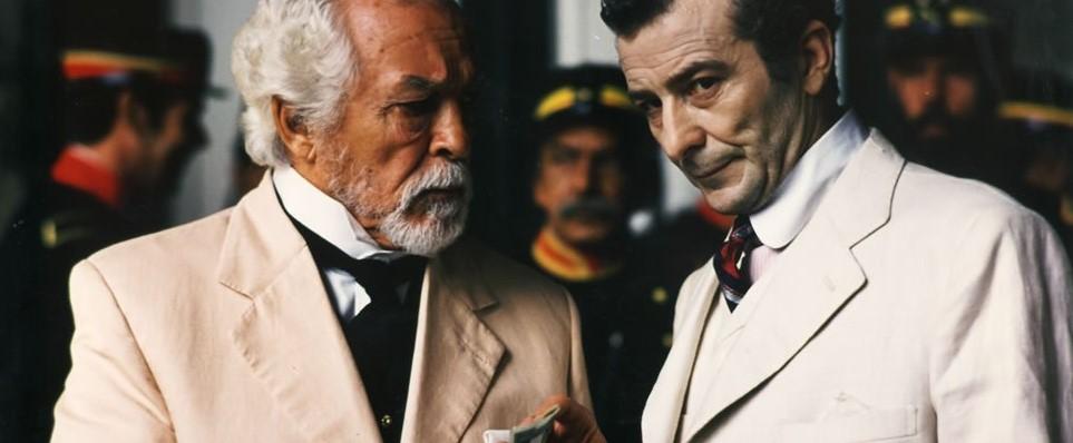 Juan Diego and Alejandro Lugo in Tirano Banderas (1993)