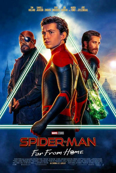 Spider Man Far from Home 2019 English Movie 480p HDRip 450MB x264 KSubs