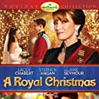 Lacey Chabert, Jane Seymour, and Stephen Hagan in A Royal Christmas (2014)