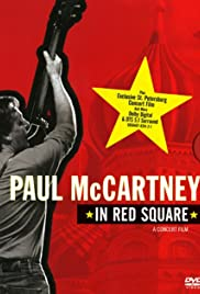 Paul McCartney in Red Square Poster