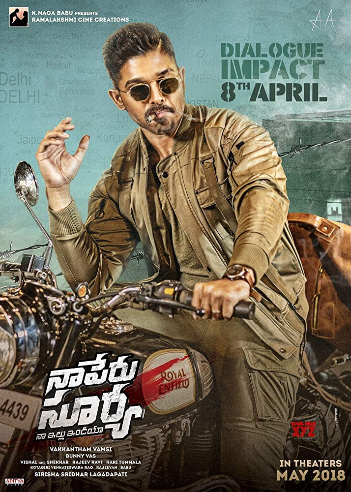 Naa Peru Surya Na Illu India (2018) 720p UNCUT HDRip x264 Eng Subs [Dual Audio] [Hindi Org DD 2.0 – Telugu 2.0]