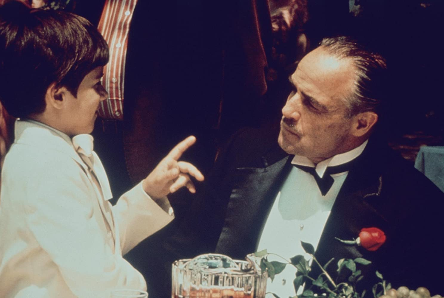 Marlon Brando in The Godfather (1972)