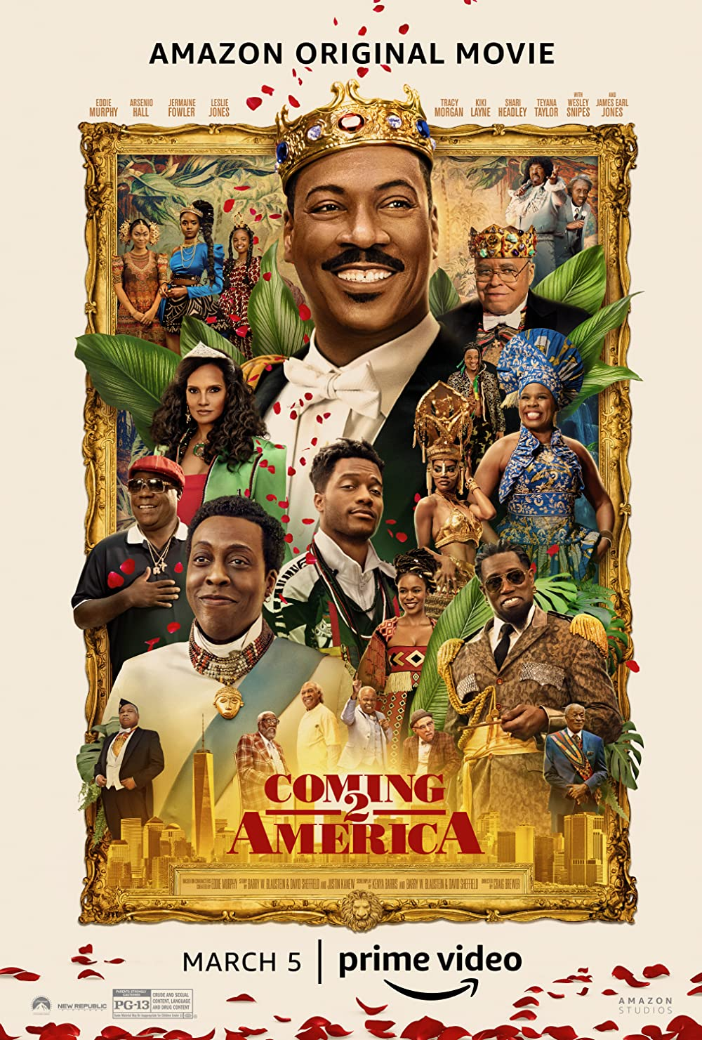 Coming 2 America 2021 English 720p AMZN HDRip ESubs 800MB | 355MB Download