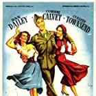 Corinne Calvet, Dan Dailey, and Colleen Townsend in When Willie Comes Marching Home (1950)