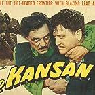 Richard Dix and Francis McDonald in The Kansan (1943)