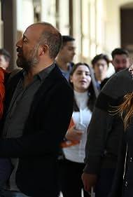 Halit Ergenç and Nur Fettahoglu in Babil (2020)