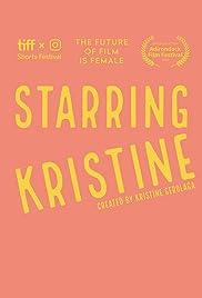 Starring Kristine Poster
