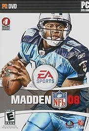 Madden NFL 2008 Poster