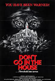 Don't Go in the House Poster