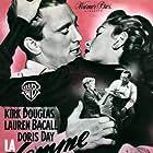 Lauren Bacall, Kirk Douglas, Juano Hernandez, and Orley Lindgren in Young Man with a Horn (1950)
