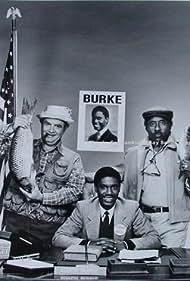 Stanley Brock, Al Fann, and Kevin Hooks in He's the Mayor (1986)