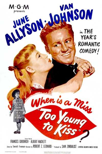 Too Young to Kiss (1951) - IMDb