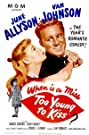 Too Young to Kiss (1951) Poster